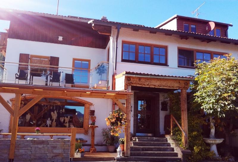 Unser Haus Außenansicht