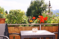 Unsere Terrasse