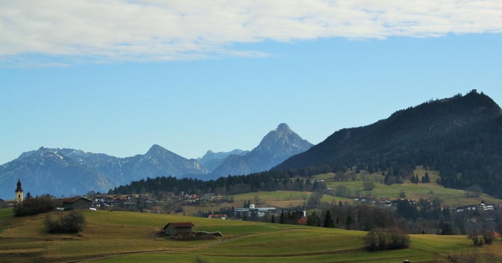 Ausblick Alpenblick