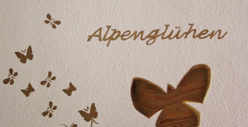 Alpenglühen - Dekoration