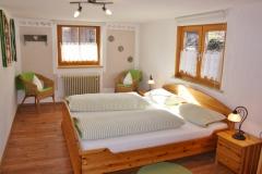 Alpenglühen - Schlafzimmer 1