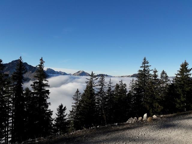 Wanderweg auf den Breitenberg